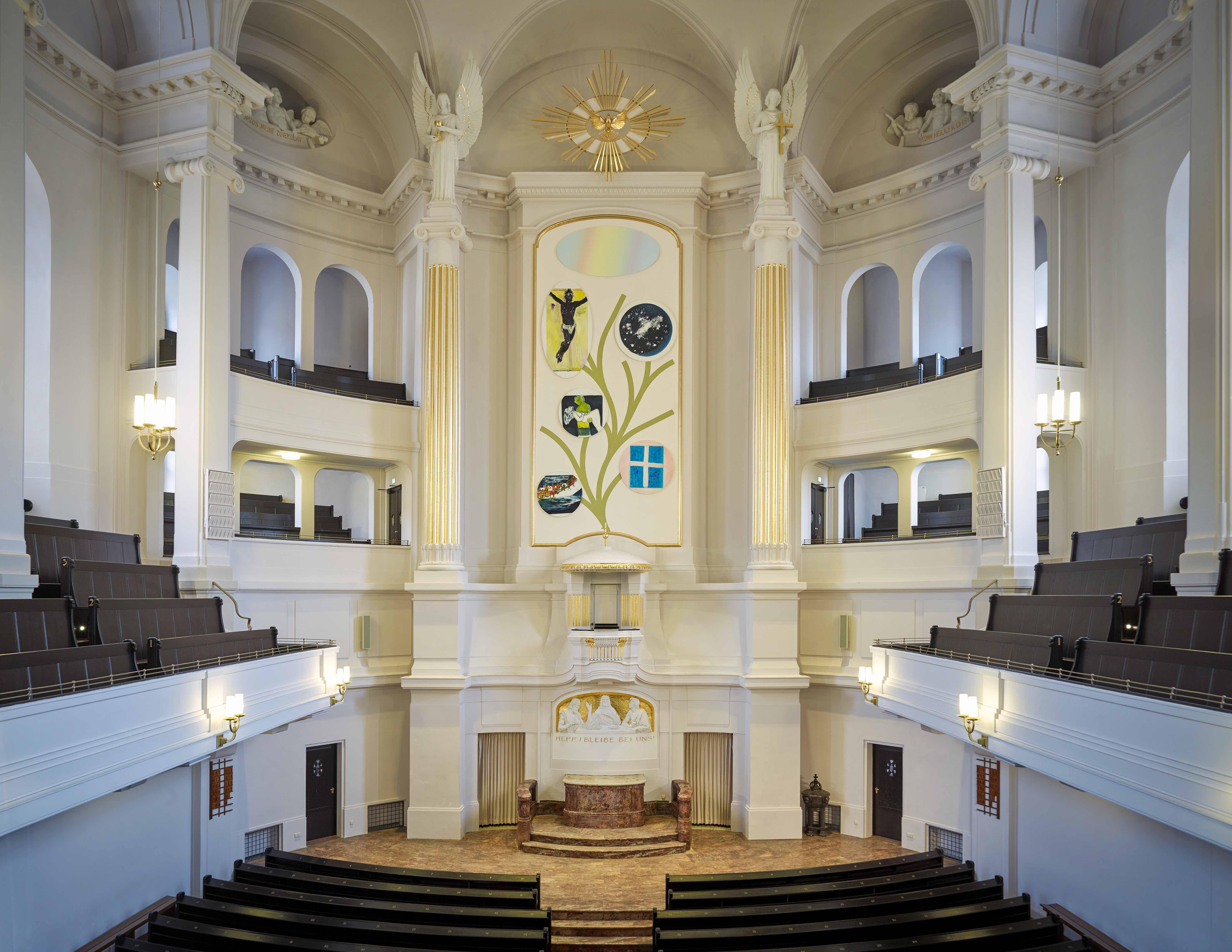 Altarpiece Annekirche Dresden