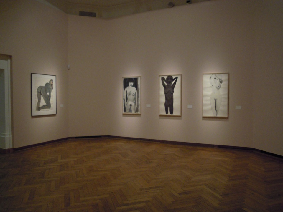 Bozar, Marlene Dumas: nudes, as part of the Constant Permeke Retrospective, 2012-2013