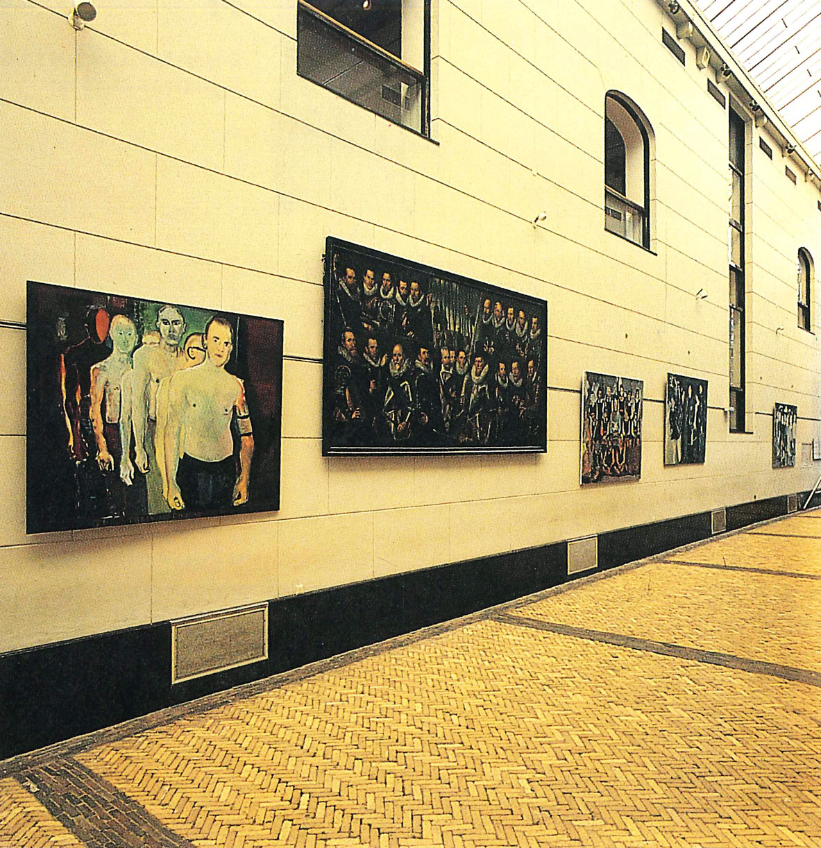 <i>Century 87: Today's Art Face to Face with Amsterdam's Past. Century 87: Kunst van nu ontmoet Amsterdams verleden</i>, Schuttersgalerij - Amsterdams Historisch Museum, Amsterdam, Netherlands, 1987 (Group exhibition)