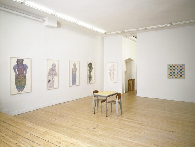 Galerie Paul Andriesse, Bert Boogaard/Marlene Dumas, 2002