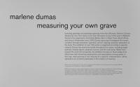 MOCA Los Angeles, Measuring your own Grave, 2008