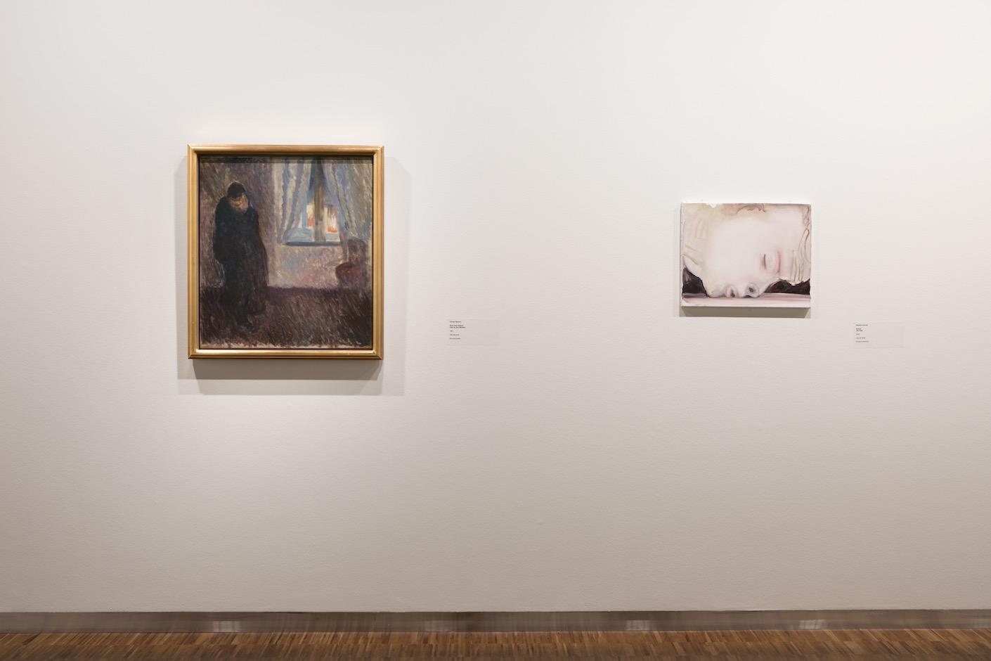 <i>Moonrise.</i> Marlene Dumas & Edvard Munch, Munch museet, Oslo, 2018-2019
