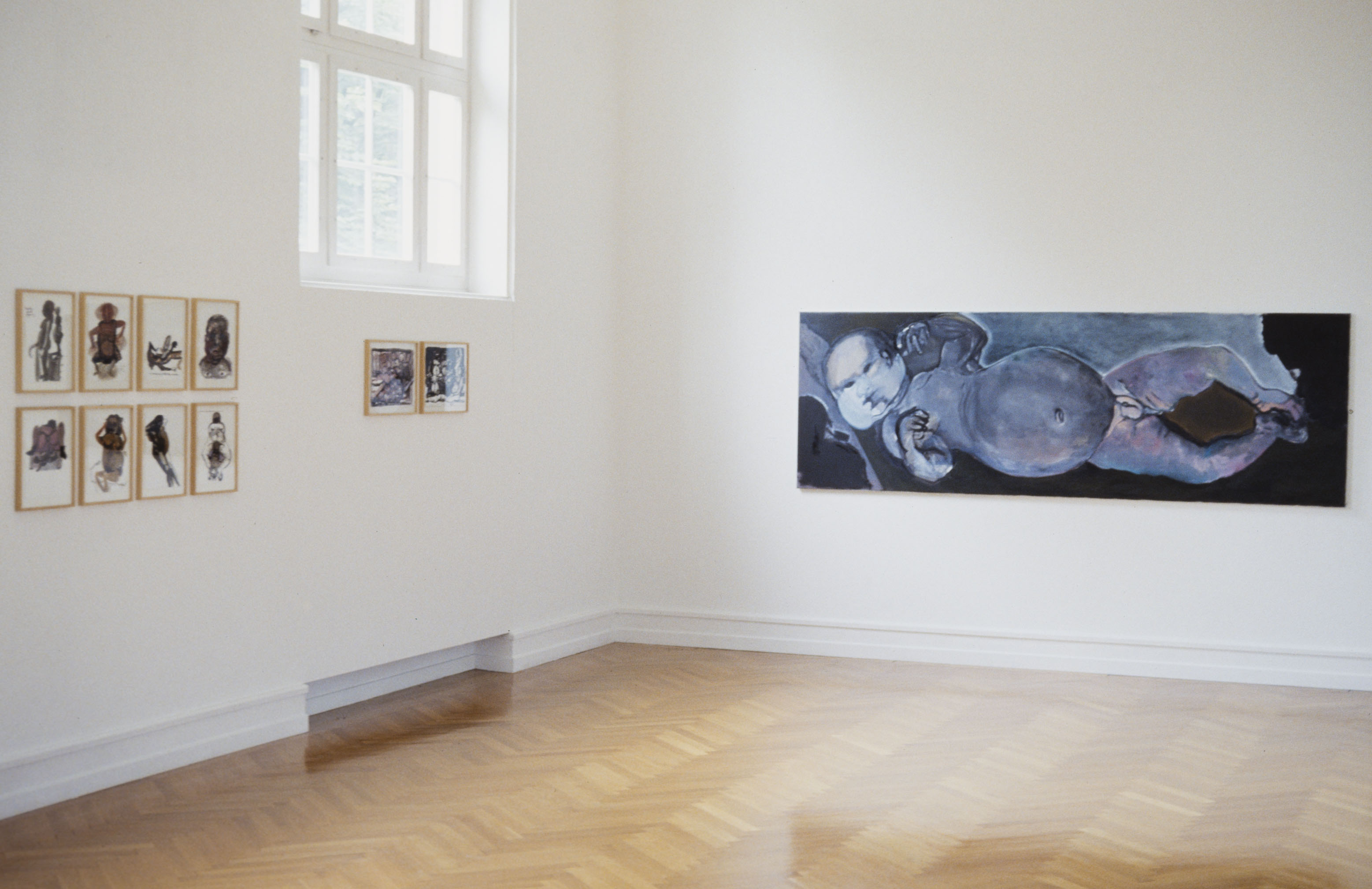 <i>The Question of Human Pink</i>, Kunsthalle Bern, Bern, Switzerland, 1989 (Solo exhibition)